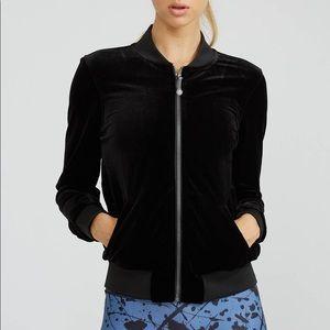 PRISMSPORT Jackets & Coats - Prism Sport Classic Bomber - Black Velvet